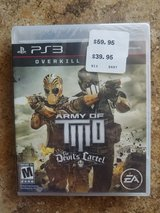 PS3 Army of Two in 29 Palms, California