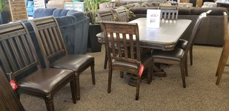 30% OFF EXT DINING TABLE AND 8 CHAIRS! in Cherry Point, North Carolina