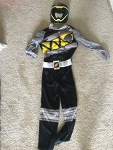 Black power ranger muscle  costume size 8 in Naperville, Illinois