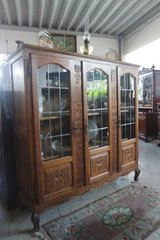elegant Louis XV style display cabinet in Ansbach, Germany
