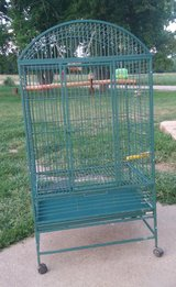 Parrot cage in Fort Leonard Wood, Missouri