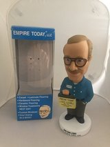 New Empire Carpet Man Bobble Head - New in Box in Glendale Heights, Illinois