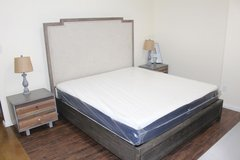 Beautiful King Size Bedroom set with mattress in Houston, Texas