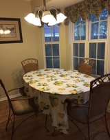 Dining room table and hutch in Wilmington, North Carolina