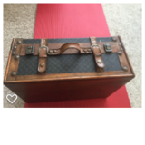 Small brown trunk/suitcase in Amarillo, Texas