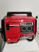 Honda EX1000 generator.  In excellent working condition in Joliet, Illinois