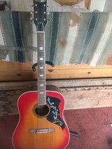 acoustic guitar in Yucca Valley, California