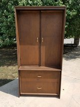 Compact craft / dining table cabinet in Fort Leonard Wood, Missouri