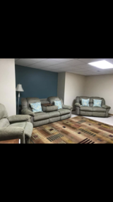 Living room set in Fort Leonard Wood, Missouri