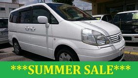 2005 NISSAN SERENA 3 ROWS 8 PASSENGERS WITH NEW JCI AND 1 YR WARRANTY!! in Okinawa, Japan