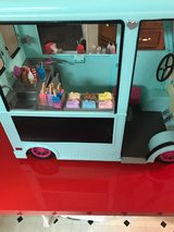 American Girl Ice Cream truck in The Woodlands, Texas