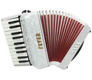 Fever Accordion F228 with 22 Piano Treble Keys and 8 Bass/Chord Buttons in Elizabethtown, Kentucky