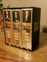 The Godfather New Unopened VHS 6 Tape Set in Fort Leonard Wood, Missouri