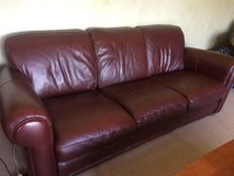 2 Leather Couches in Shorewood, Illinois