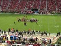 San Francisco 49 ers vs Los Angeles Chargers in Vacaville, California
