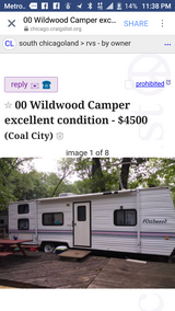 Wildwood camper in Morris, Illinois