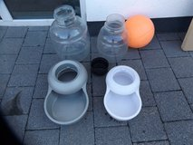 2 pet containers and lg orange plastic ball in Ramstein, Germany