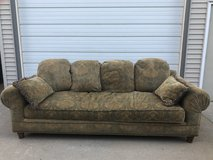 Large floral couch Good condition in Shorewood, Illinois