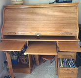 Solid Oak Roll Top Desk in Elizabethtown, Kentucky