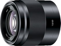 Prime Sony Lens SEL50F18 50mm f/1.8 Lens for Sony E Mount A6000 & Nex Cameras (Black) in Okinawa, Japan