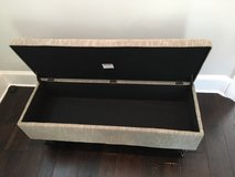 Storage Bench/Ottoman with Casters in Beaufort, South Carolina