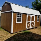 10'x20' Urethane Side Lofted Barn in Fort Leonard Wood, Missouri