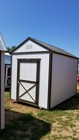 8'x12' Lofted Utility in Fort Leonard Wood, Missouri