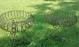 Wrought Iron Planters in Naperville, Illinois