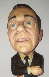 Jack Benny Mini-Sculpture in Chicago, Illinois