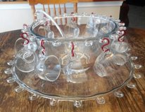 Antique Punch Bowl Set in Chicago, Illinois