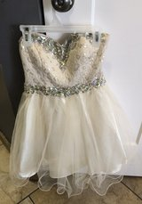 Homecoming dress in Sugar Grove, Illinois