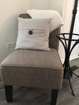 Brown/Taupe Herringbone Chair in Chicago, Illinois
