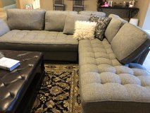 Cindy Crawford sectional couch in Spring, Texas