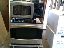 GE combo microwave and oven wall unit in Alamogordo, New Mexico