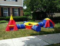 Adventure Tunnels and Tents Playset in Tinley Park, Illinois