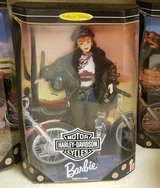 NIB 1998 HARLEY DAVIDSON Barbie Doll COLLECTOR EDITION 20441 Red Head Bike in Kingwood, Texas