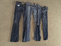 Hollister jeans size 26/33 in Hemet, California