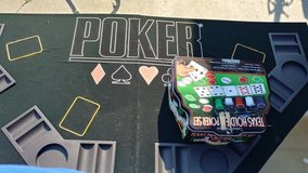 Poker set in Travis AFB, California
