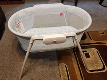 Fisher-Price stow and go bassinet in Olympia, Washington