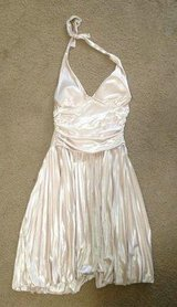 Gold cocktail dress size large in Hemet, California