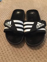 Adidas sandals in Okinawa, Japan