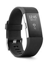 Fitbit Charge 2 Heart Rate + Fitness Wristband, Black, Large in Okinawa, Japan