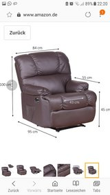 Recliner Black in Wiesbaden, GE