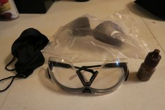 Close UVEX XC military issue shooting glasses sunglasses new condition  ( call my cell phone only ) in Okinawa, Japan