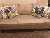 Couch & Chair-off white/beige-excellent condition-smoke free-pet free home-pick up Huebner & Eck... in Lackland AFB, Texas