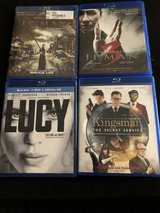 Blu Ray Movies in Okinawa, Japan