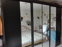 Closet black with mirrors in Wiesbaden, GE