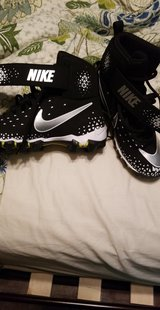 Football cleats in Fort Drum, New York