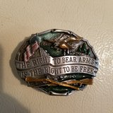 2nd Ammendment belt buckle in Fort Knox, Kentucky