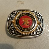 NRA vintage belt buckle in Fort Knox, Kentucky